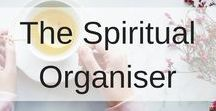 The Spiritual Organiser / This spiritual organiser board is all about anything spiritual, metaphysical, how to use crystals, the law of attraction, manifesting abundance and everything in between.