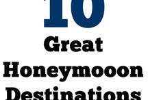 Unique Honeymoon Destinations / Some of our favorite honeymoon spots in the world! Find exotic, affordable, tropical, caribbean, beach, european, romantic, unusual and secluded honeymoon destination ideas here! / by With This Favor
