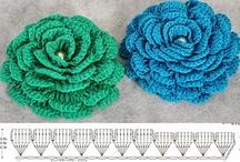 Crochet / ideias e trabalhos com agulhas e linhas.
