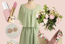 Garden Party / Pastel colors, outdoor 1920's inspired bridal shower or tea party