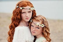Flower Girls / Hairstyles and more Flower Girl goodness