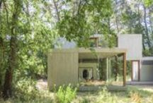 Concrete houses / Inspiration for modern single-family houses, using concrete in a natural environment / by m n