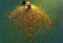 Fantasy terrarium, fairies... / by Emi Emi