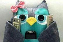 Craft owl and sewing / by Emi Emi