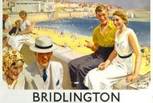 Seaside posters / Vintage posters inviting us on our summer holidays