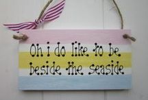 Oh I do like to be by the seaside! / A few of the wonderful things that make a holiday by the sea a must thing to do!
