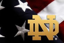 Notre Dame  / Fighting Irish  / by Teri Bowers Schultis