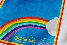 Rainbows / Rainbows, diversities, harmonies, storytelling possibilities. Our Bedtime Bags by BarakahBedtimesUK. #BedtimeBag