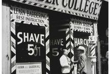 La Enciclopedia de LEA / Fotografías e imágenes en relación con el mundo del afeitado a lo largo de la historia