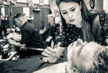 Barberías del mundo / Establecimientos con encanto, tradición, moda y mucho estilo. La vida transcurre en una barbería.