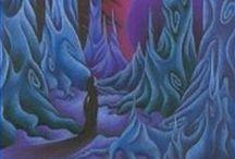 """La Luna di Chrysos di Debora Montanari / The plot of the novel """"The Moon of Chrysos"""" translated into images -  Il romanzo attraverso le immagini. Viaggiatori nel tempo, mostri, oscure altre dimensioni e gli stessi protagonisti del primo romanzo """"I Draghi di Chrysos""""."""