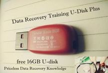 Data Recovery Training U-disk Plus / Data Recovery Training U-disk Plus is actually one 16-GB U disk containing many useful training contents which will definitely help users who starts a business or who wants to enhance their data recovery capabilities.