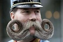 Moustaches and beards / Facial hair of all designs