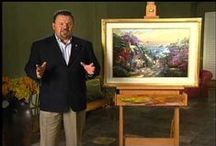 Thomas Kinkade / by Charlotte Slaugh