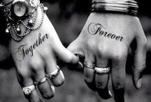 ✰⊱COUPLE❁TATTOOS⊰✰ / Branded for love