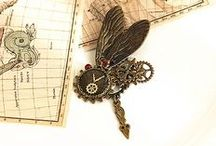 Steampunk Accessories Jewelry / If you are in front of the trend, why not choose steampunk style jewelry to create a unique look?