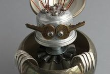 ROBOTS & METAL ASSEMBLAGES / by Giuseppe Zagonia