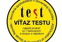 Decodom - OCENENIA / Decodom - AWARDS and Quality Certification / Ocenenia kvality našich výrobkov a služieb.