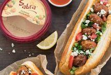!Sabra! / Recipes featuring Sabra hummus, salsa, guacamole, and Greek yogurt dips