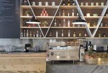 .Interiors showrooms + restaurants