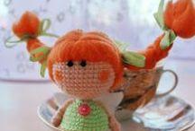 куколки=малышки=шерсть,вязание,фетр