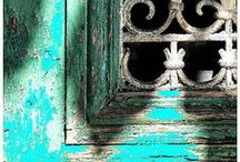 ~ COUNTRY TURQUOISE &TURQUOISE & PINK & COTTAGE ~