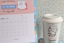 Organisation / Planner, stickers, bullet journal... tout pour s'organiser !