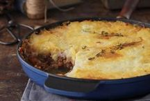 * meat / chicken casseroles, Pies bakes & appetizers / פשטידות מאפי בצק ומנות פתיחה- בשרי / by Yonit Shahar