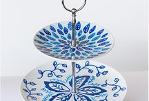 Upcycled  glas og porcelæn