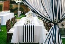 Black and White / Inspiration board for classic black and white styling, decor, and design.