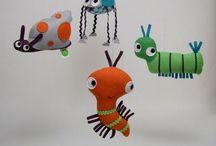 Uro Havet (the sea) / Tøjdyr, og andet legetøj inspireret af havet