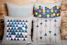 À plate couture par Karyne Beauregard / Une nouvelle collection de linge de maison créée par la designer d'intérieur Karyne Beauregard. Découvrez des produits originaux créés et fabriqués au Québec.