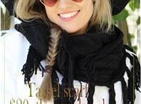 Scarves | My new obsession! / Fun scarf styles to obsess over!