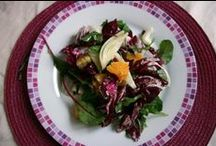 Salads ~ Insalate / Part of everyday life of Italian families and beyond ^_^