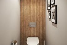 Cloakrooms / Sometimes the smallest #room in the #house can be the most important and the most creative. Cloakrooms are simply #small #bathrooms in small spaces.