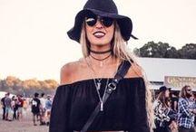 Festival Looks / Festival style & beauty