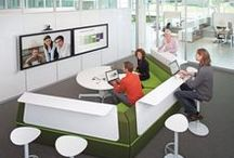 Collaborative Office Space / Collaborative Office space allows for people to have meet and throw ideas around.