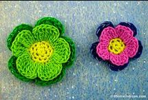 Crocheted flowers / Crocheted flowers, patterns and ideas