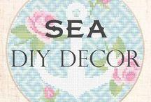 Sea DIY decor / Sea and Ocean Decor DIY