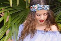 Bandeaux en Wax - Wax prints Headbands / Bandeaux wax type turban avec un élastique à l'arrière pour s'ajuster à votre tête.  Ces bandeaux en tissus Wax Africains aux formes tribaux, batiks et abstraits sont cousu main.