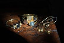 Steven Battelle Jewelry / Steven Battelle's creates the most gorgeous treasures. He finds the most beautiful gemstones, and builds a beautiful piece of jewelry out of 18 or 22 karat gold to showcase them.