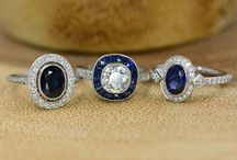 Engagement Rings / This is your most important ring- you will wear it every day, for the rest of your life. Lots of selections for every personality!