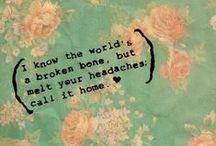 quotes+lyrics+poetry