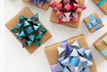 Gift wrapping / present presentation / by Faith Kemmerer