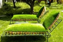 """Outdoor Living / """"Home Decor"""" ideas for the great outdoors -- your backyard.  / by Linda Jordan"""