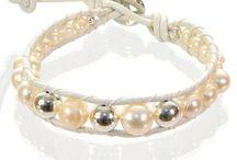 White <3 / #bridal#bracelets#white#wedding