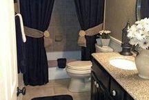 Bathroom Ideas / Bathroom tiling ideas including flooring, showers/tubs, walls and more