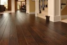 Hardwood Floor Ideas / Hardwood flooring and stair ideas to make your home beautiful.
