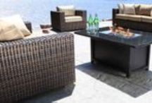 Louvre by Cabana Coast / Wicker patio furniture sets