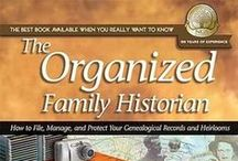 Genealogy Organization / by Journey to the Past